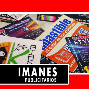 Imanes Publicitarios / Magnéticos Publicitarios