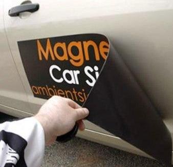 Magnetico Publicitario para autos